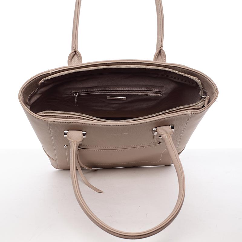 Trendy kabelka přes rameno Cristal, béžová
