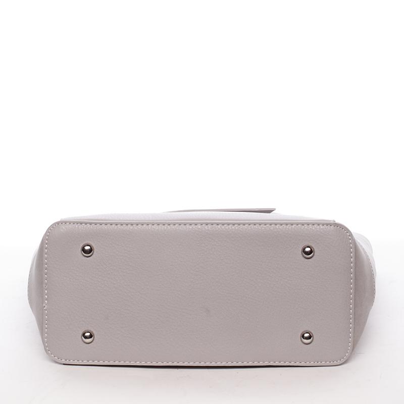 Trendy kabelka přes rameno Cristal, šedá