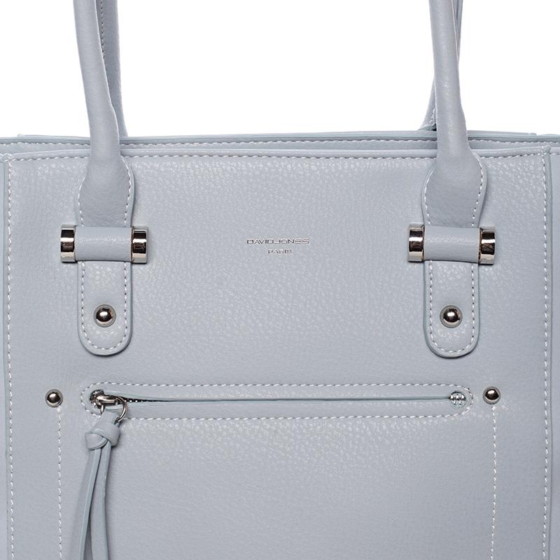 Trendy kabelka přes rameno Cristal, světle modrá