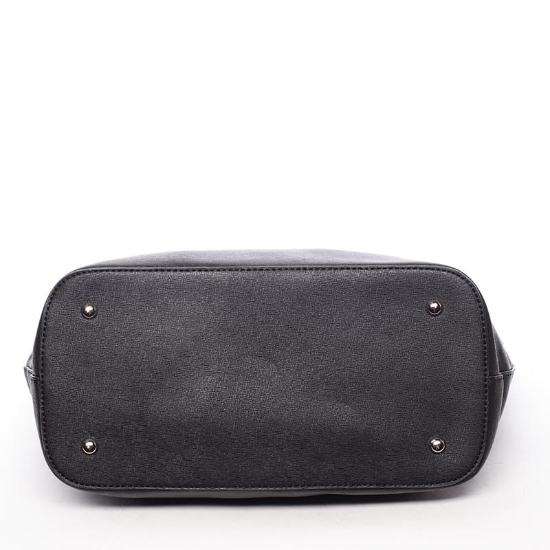Trendy dámská kabelka přes rameno Dafne, černá