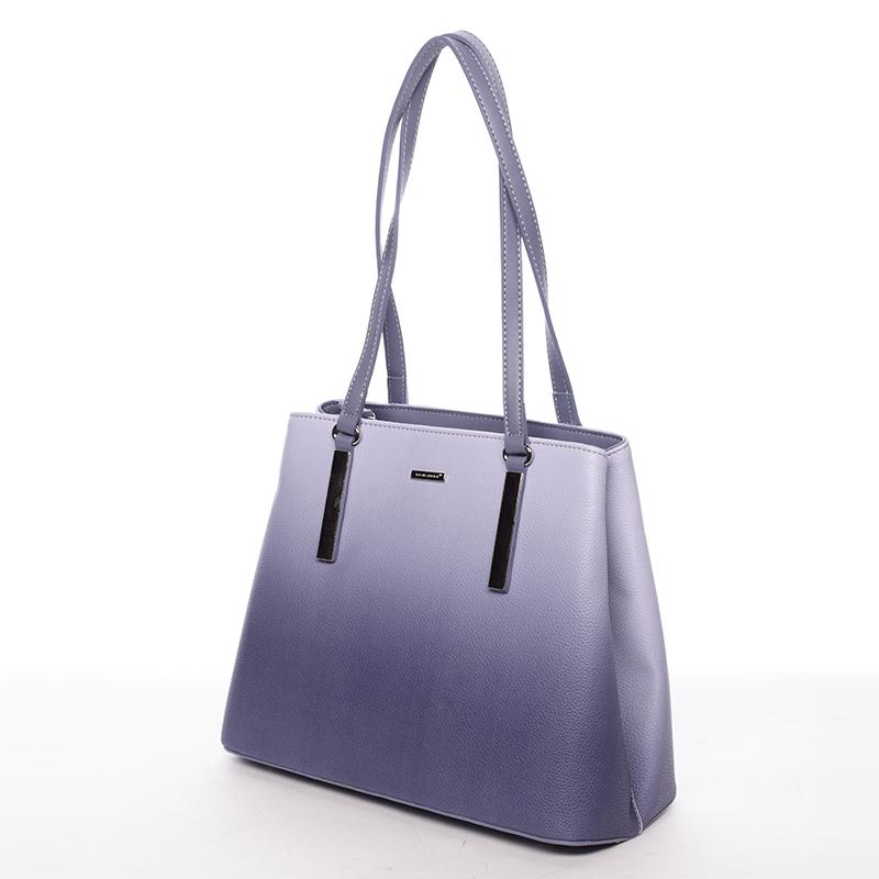 Stylová kabelka přes rameno Déborah, jeanově modrá