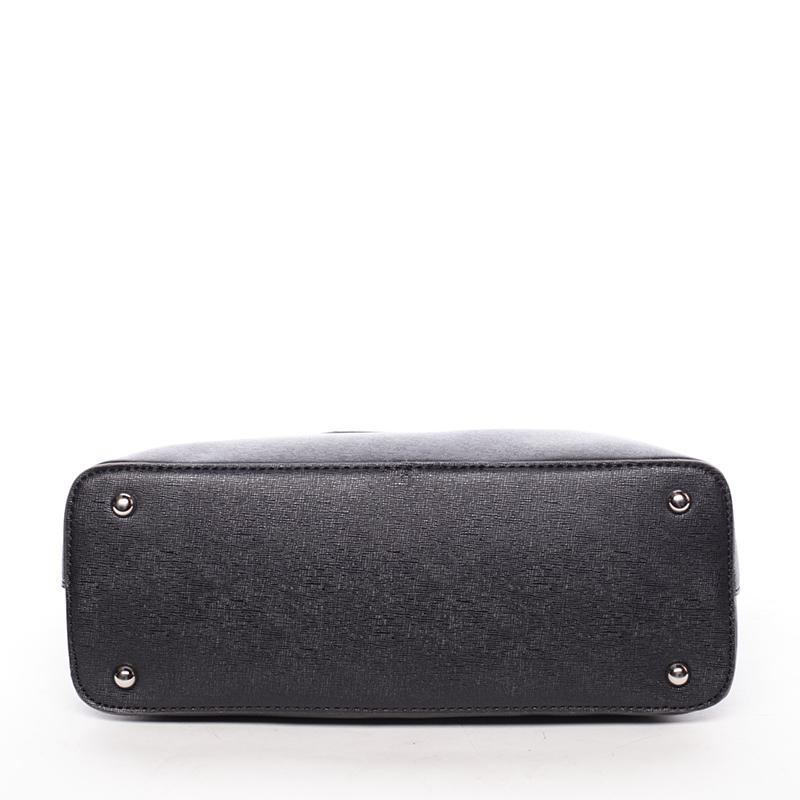 Elegantní kabelka přes rameno Nina, černá
