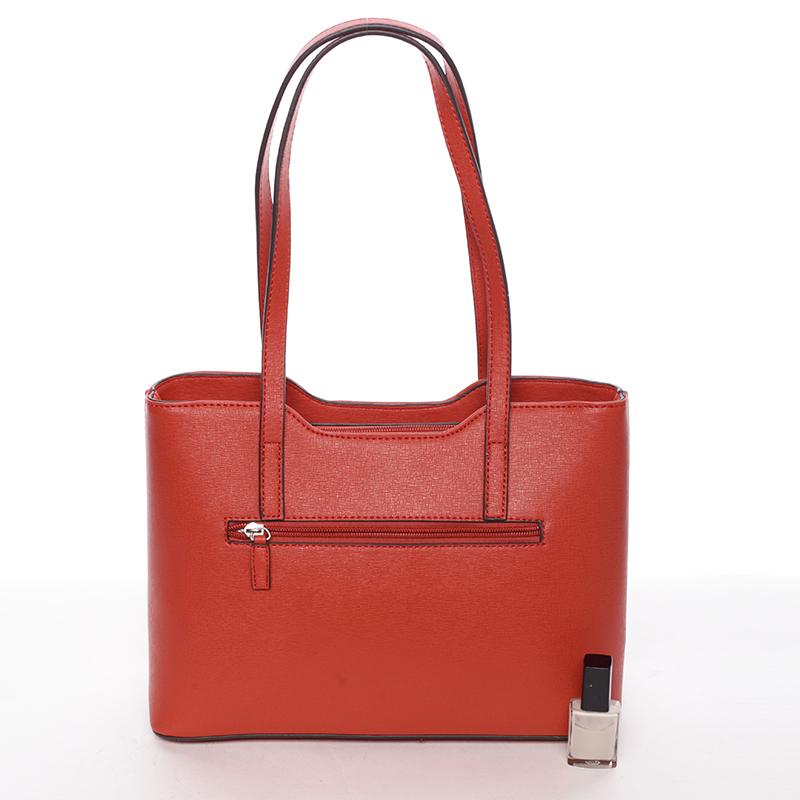 Elegantní kabelka přes rameno Nina, červená