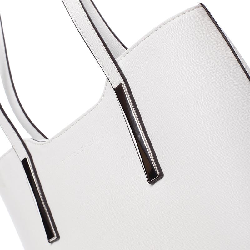 Elegantní kabelka přes rameno Nina, bílá
