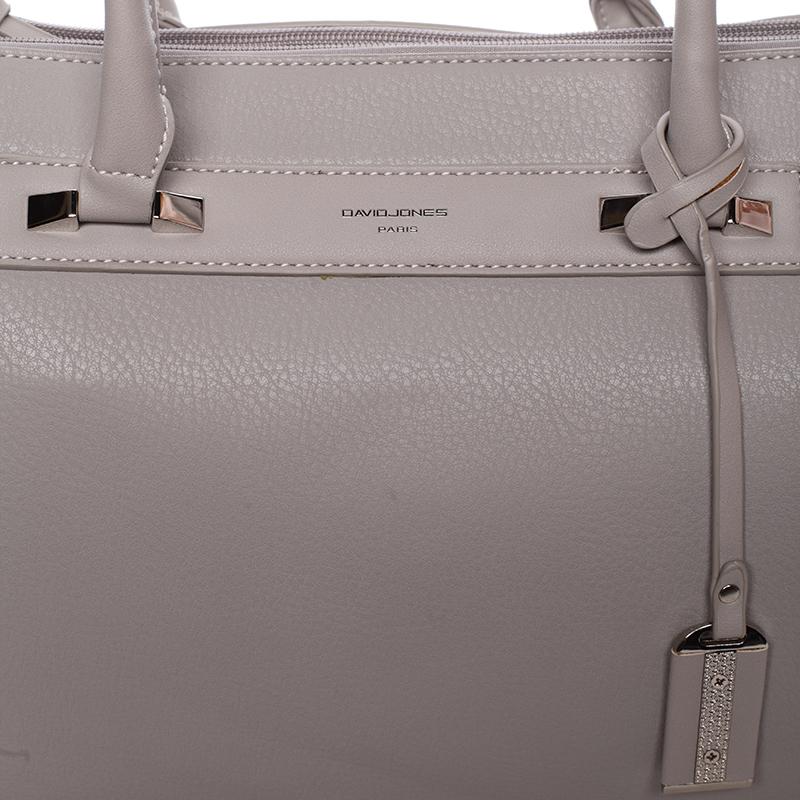 Stylová kabelka do ruky Ross, šedá
