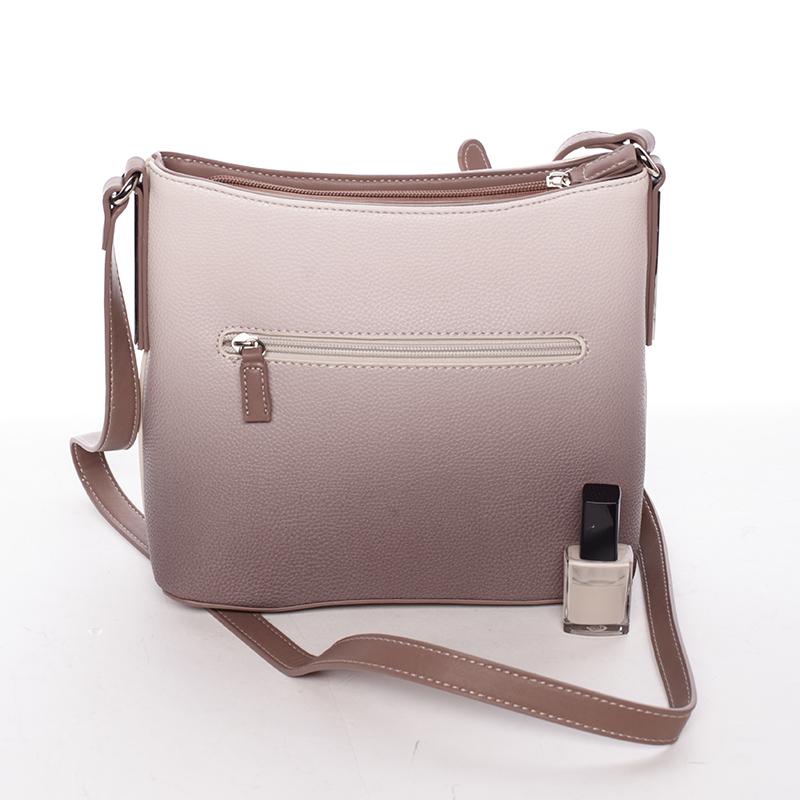 Elegantní dámská kabelka přes rameno Zora, hnědá