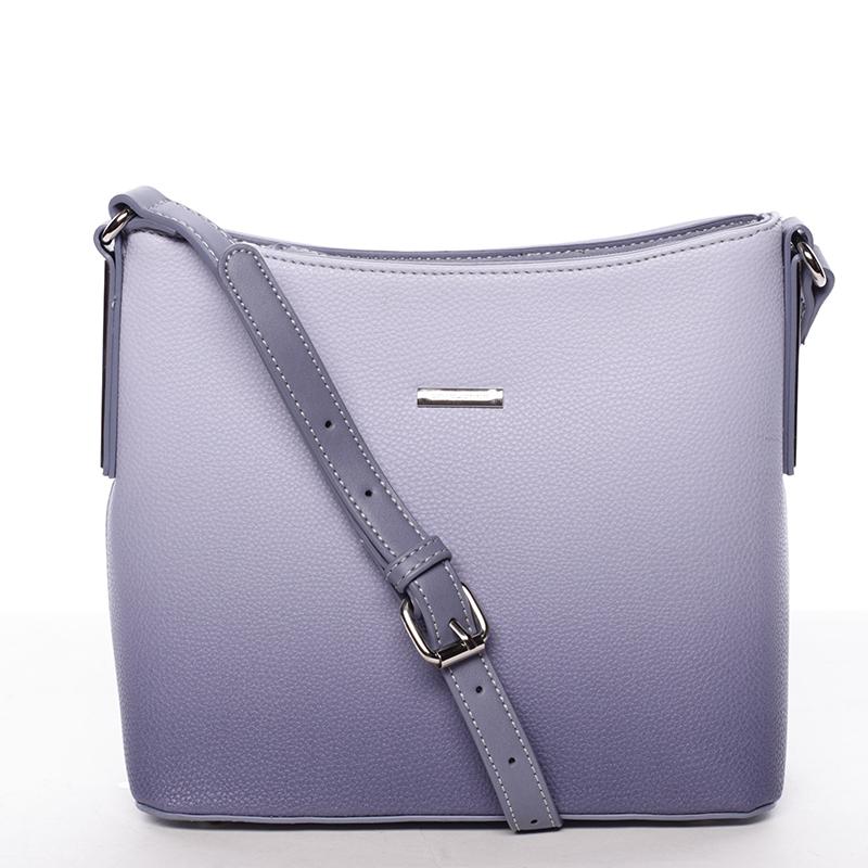 Elegantní dámská kabelka přes rameno Zora, jeanově modrá