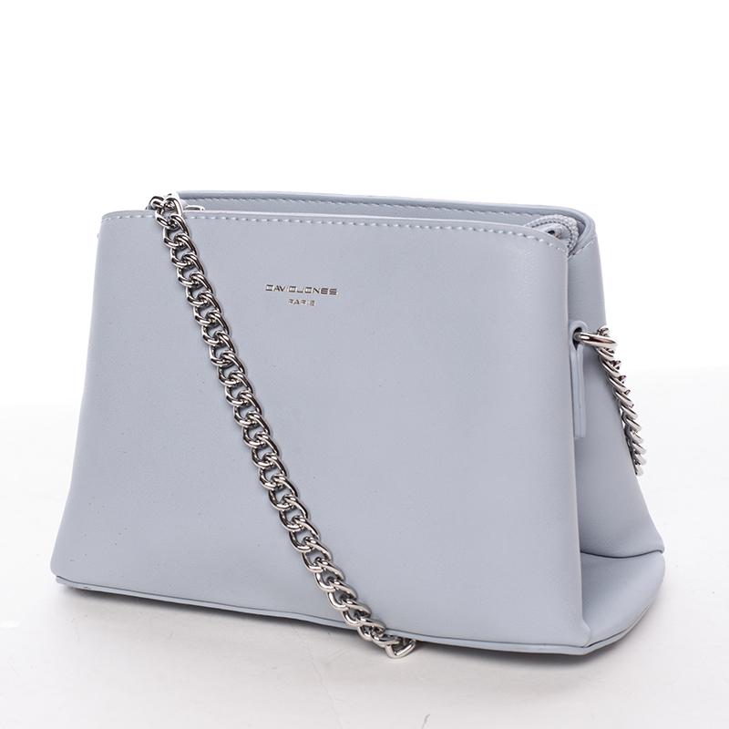 Módní crossbody kabelka Tania, světle modrá