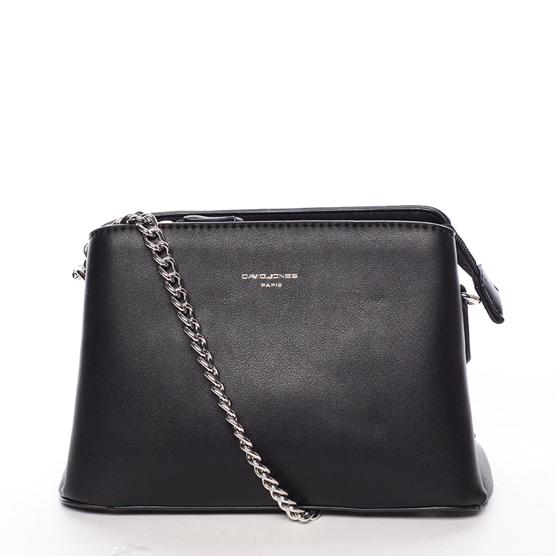 Módní crossbody kabelka Tania, černá