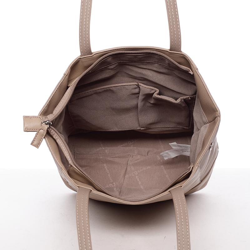 Dámská kabelka přes rameno Felipa, béžová