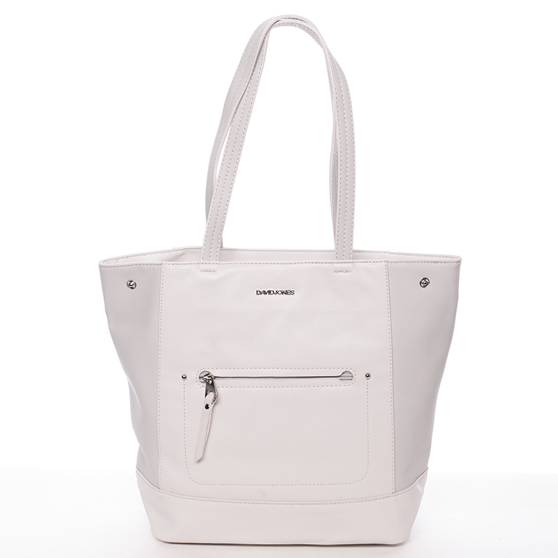 Dámská kabelka přes rameno Felipa, krémově šedá