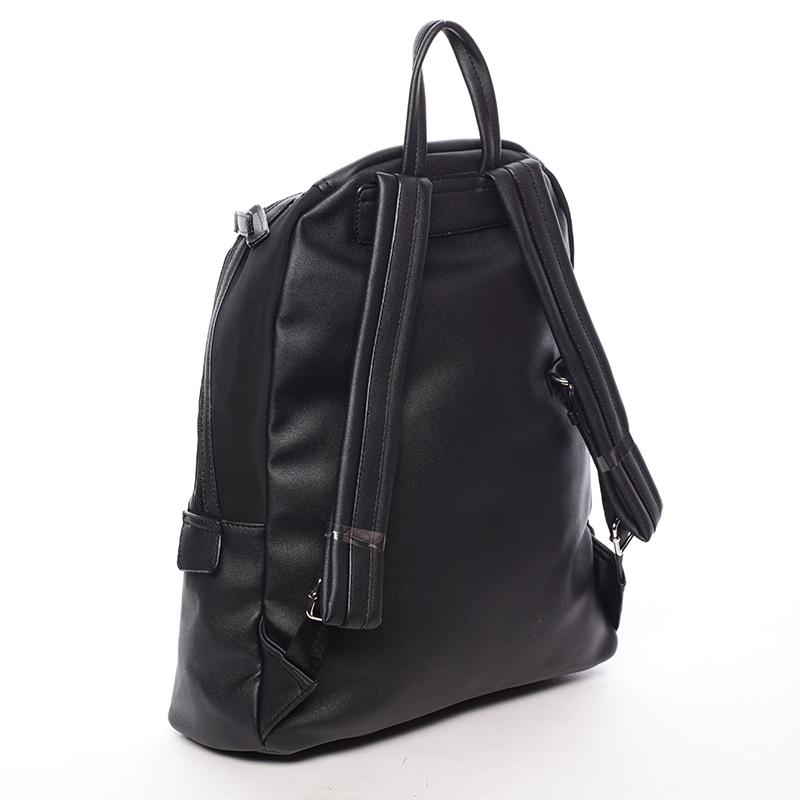 Velký trendový batoh Leandra, černý