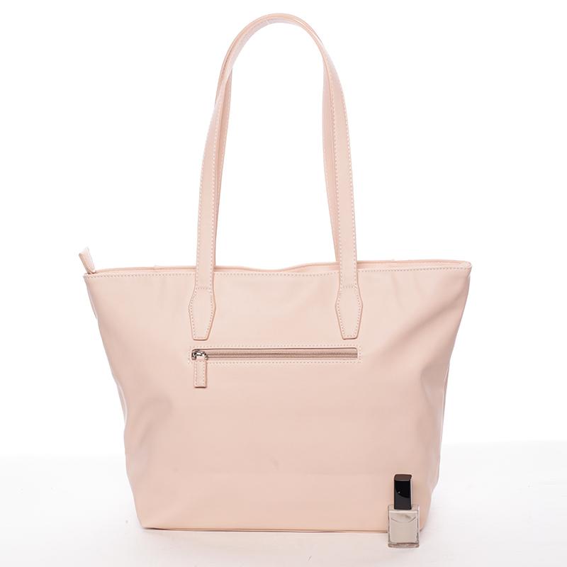 Větší kabelka přes rameno Isabella, růžová