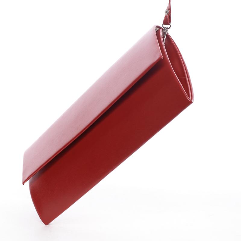 Stylové psaníčko Perla, červené