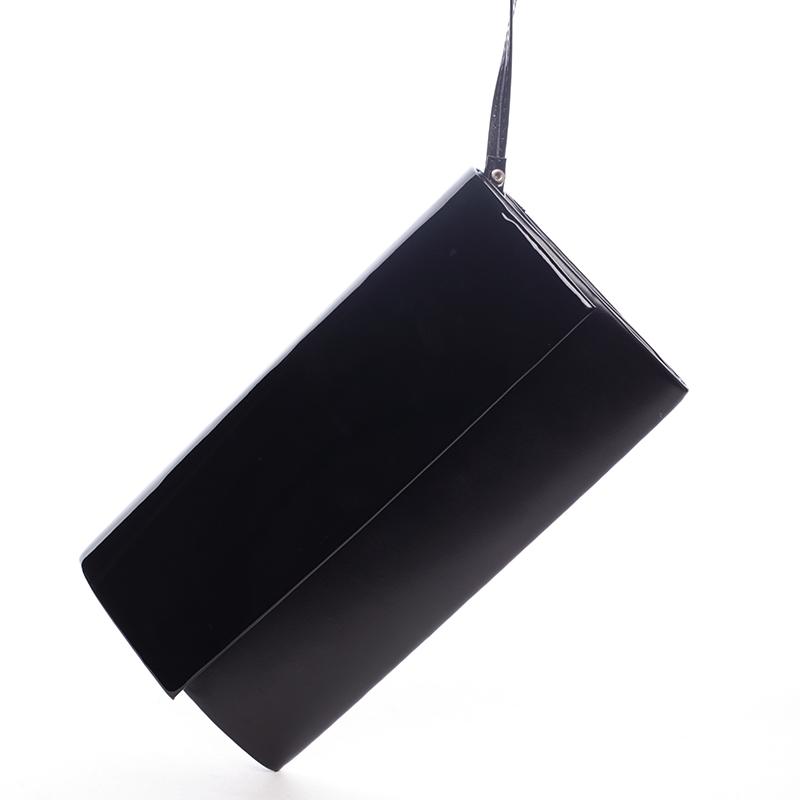 Stylové psaníčko Perla, černé
