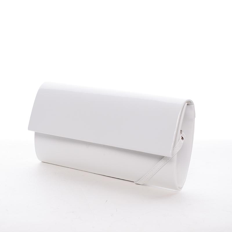 Stylové psaníčko Perla, bílé