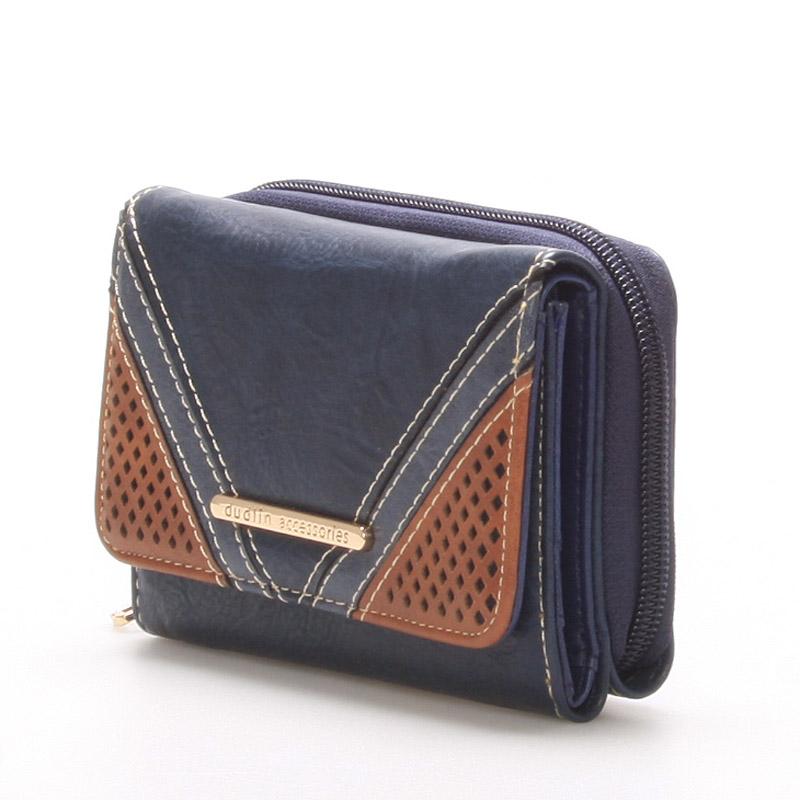 Stylová dámská peněženka Natalie, modrá