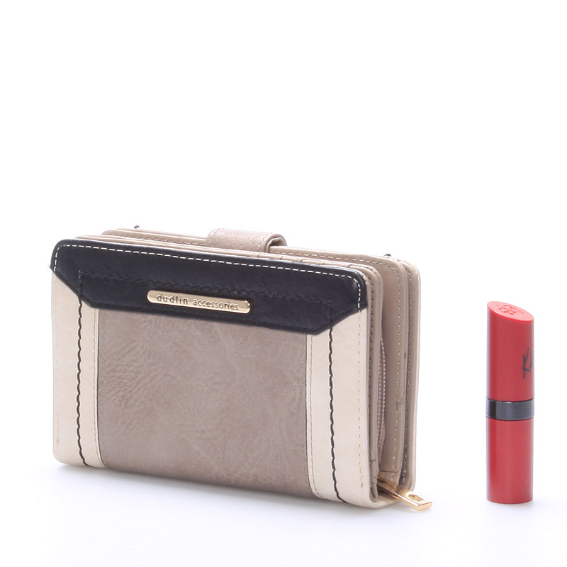 Originální dámská peněženka Hayley, světle šedá