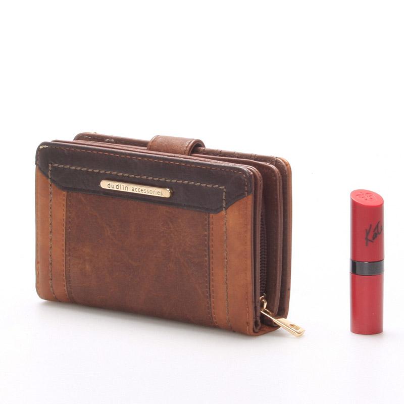 Originální dámská peněženka Hayley, hnědá