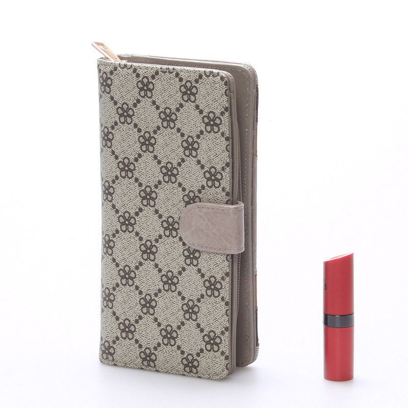 Módní peněženka Georgina, khaki