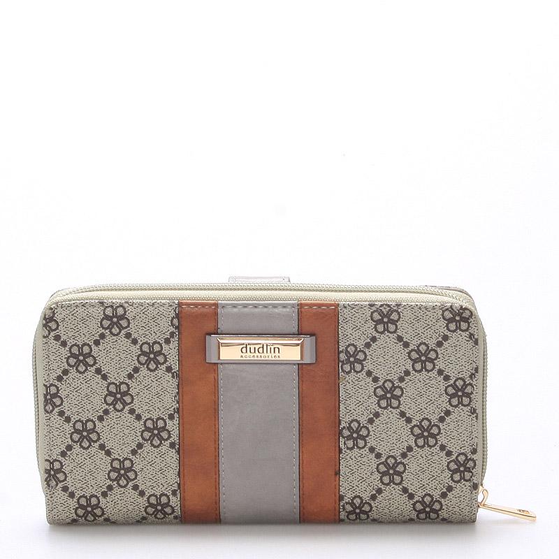 Prostorná peněženka Rachael, khaki