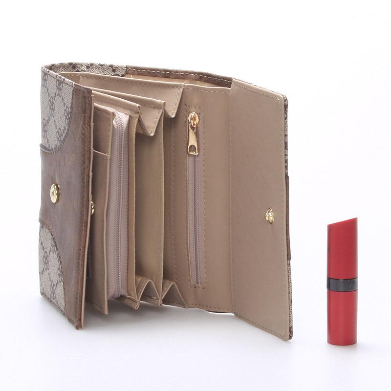 Dámská stylová peněženka Millie, oříšková