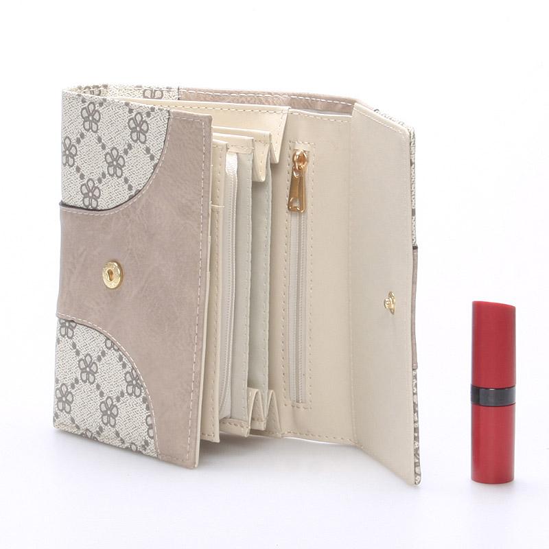 Dámská stylová peněženka Millie, béžová