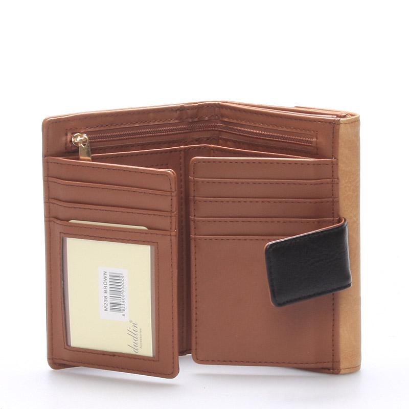 Dámská peněženka Lana , hňedá