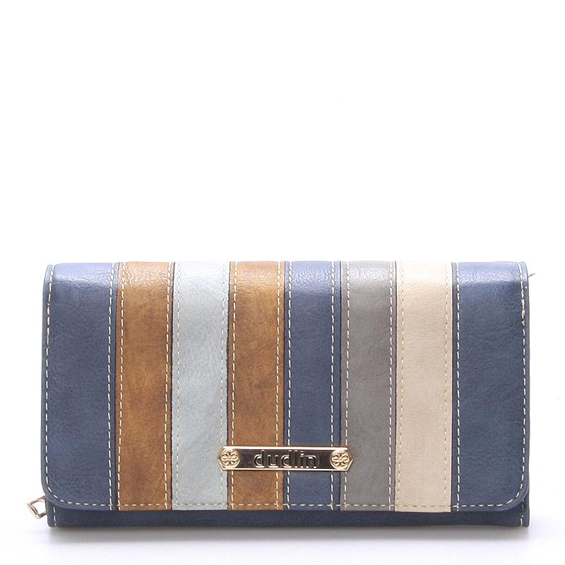 Pestrá dámská peněženka Jennifer, modrá