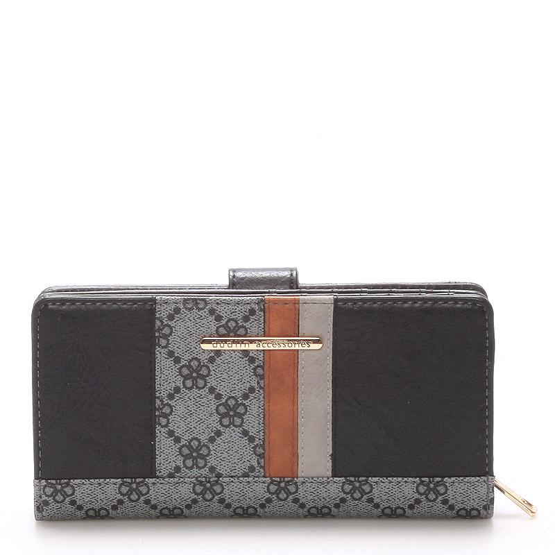 Moderní peněženka Katherine, černá