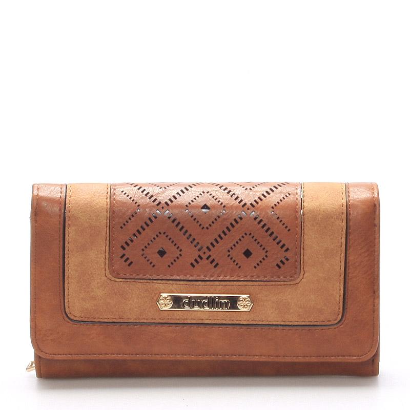 Dámská originální peněženka Bethan, hnědá