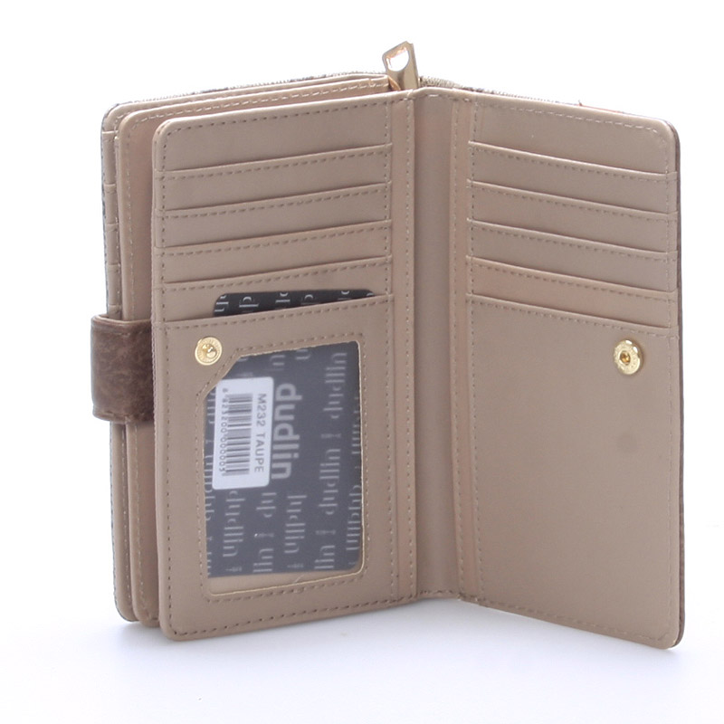 Dámská peněženka Sasha, oříšková