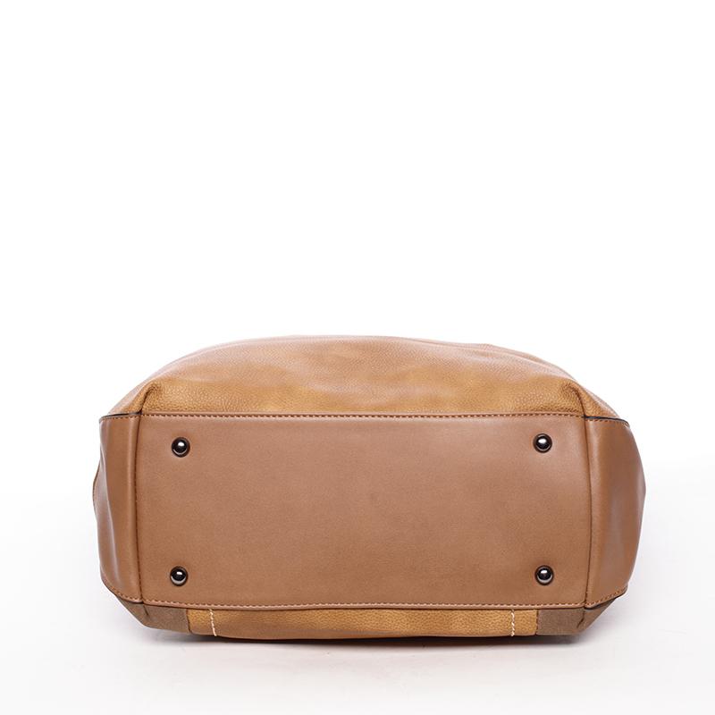 Luxusní kabelka přes rameno Octavio, žlutá