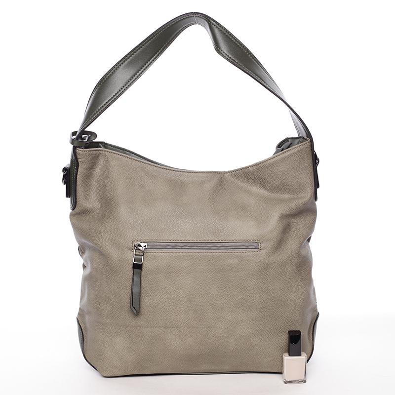 Luxusní kabelka přes rameno Octavio, zelená