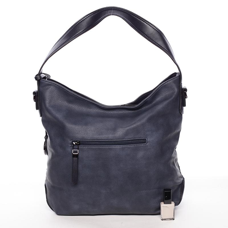 Luxusní kabelka přes rameno Octavio, modrá