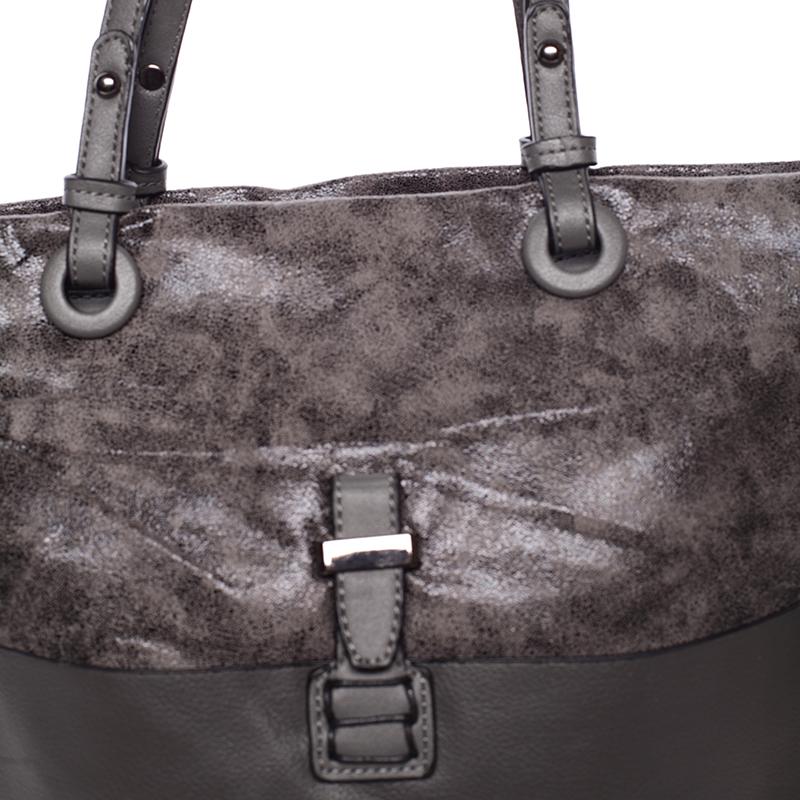 Prostorná kabelka přes rameno Jay, šedá