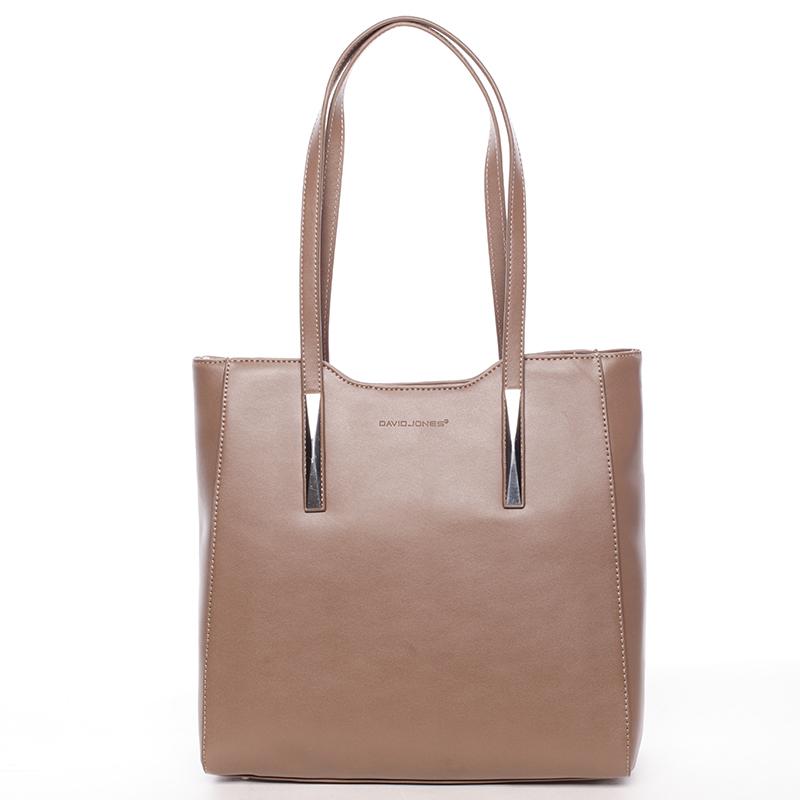 Elegantní dámská kabelka Adrian, tmavě béžová