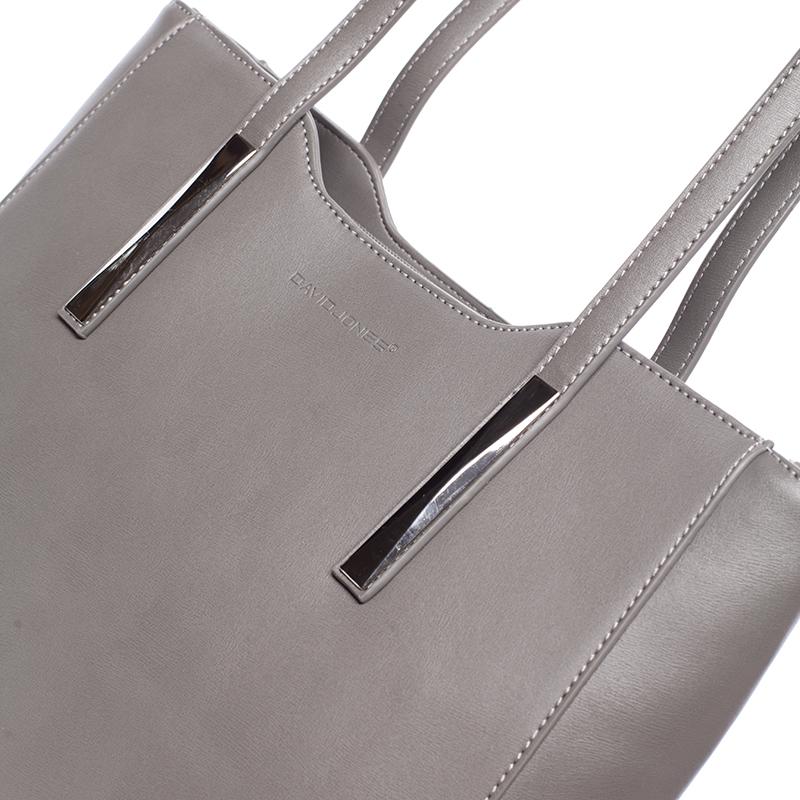 Elegantní dámská kabelka Adrian, šedá