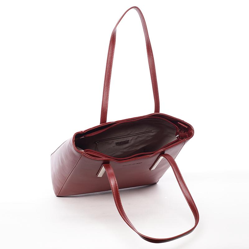 Elegantní dámská kabelka Adrian, bordó
