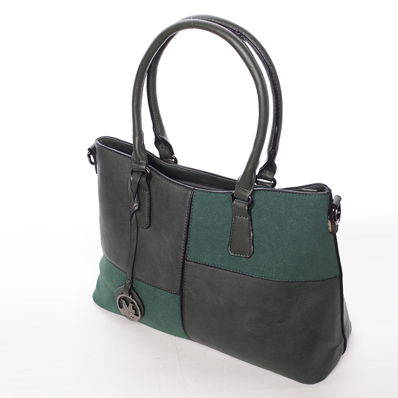 Elegantní kabelka do ruky Deandre, zelená