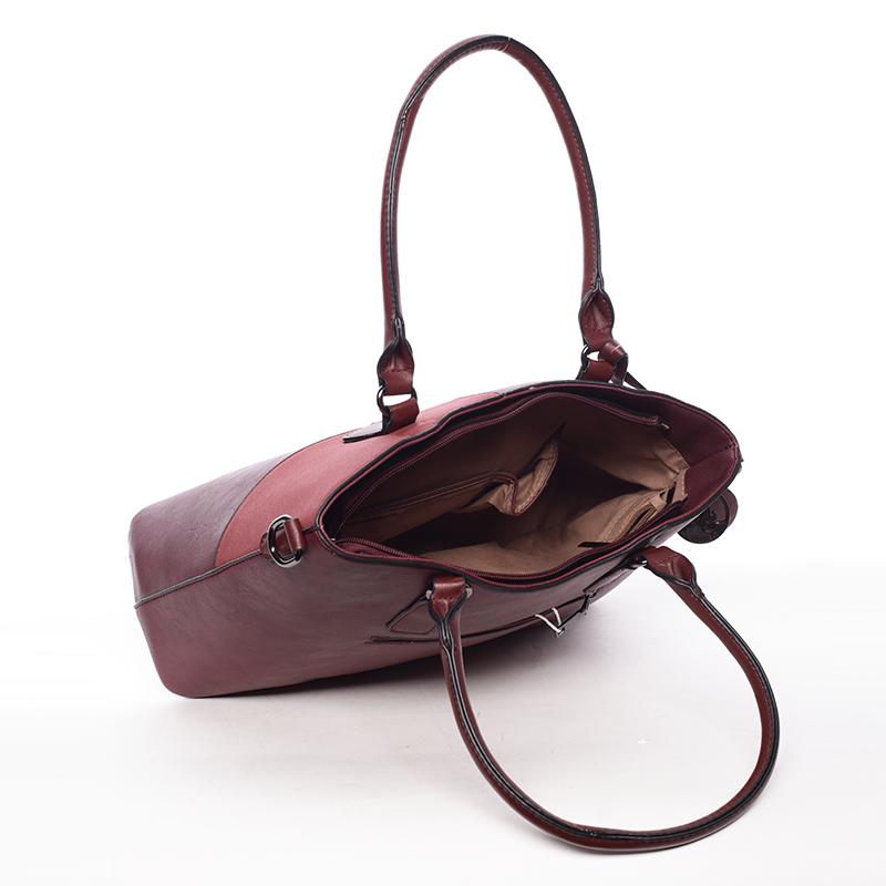 Elegantní kabelka do ruky Deandre, červená