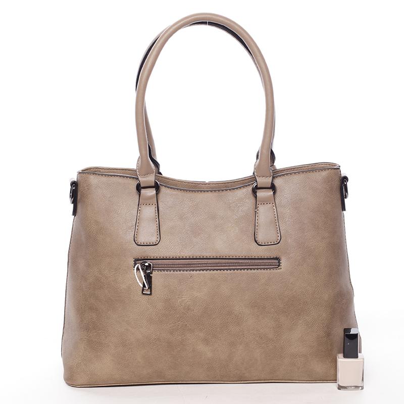 Elegantní kabelka do ruky Deandre, khaki