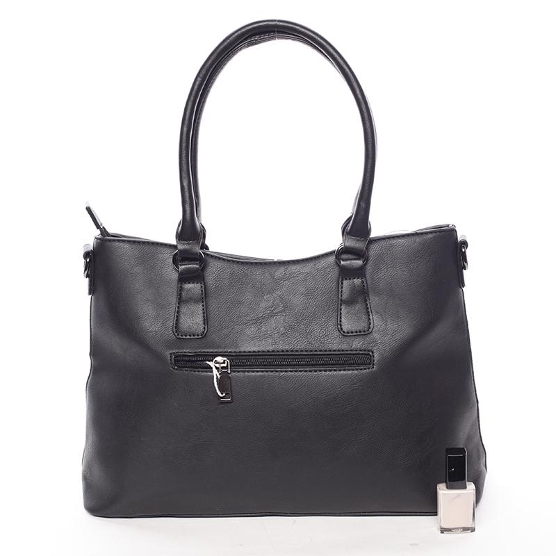 Elegantní kabelka do ruky Deandre, černá