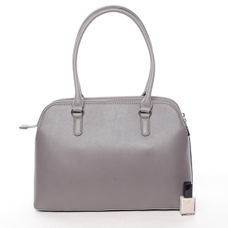 Trendy kabelka do ruky Deon, tmavě šedá