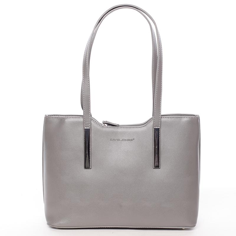 Elegantní kabelka přes rameno Deonte, šedá