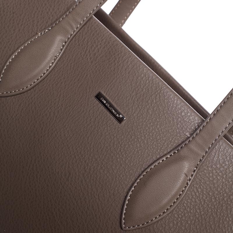 Dámská kabelka přes rameno Desireeh, tmavě oříšková