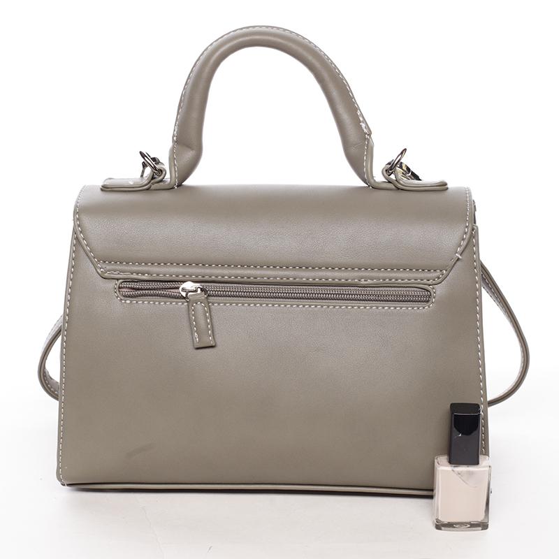 Módní kabelka do ruky Inga, khaki
