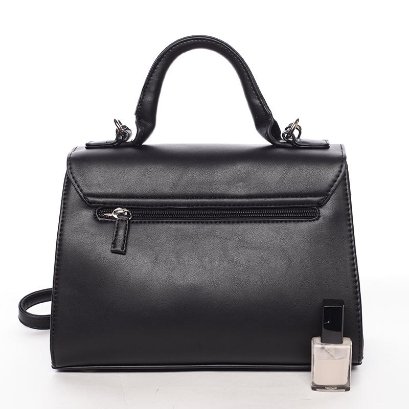 Módní kabelka do ruky Inga, černá