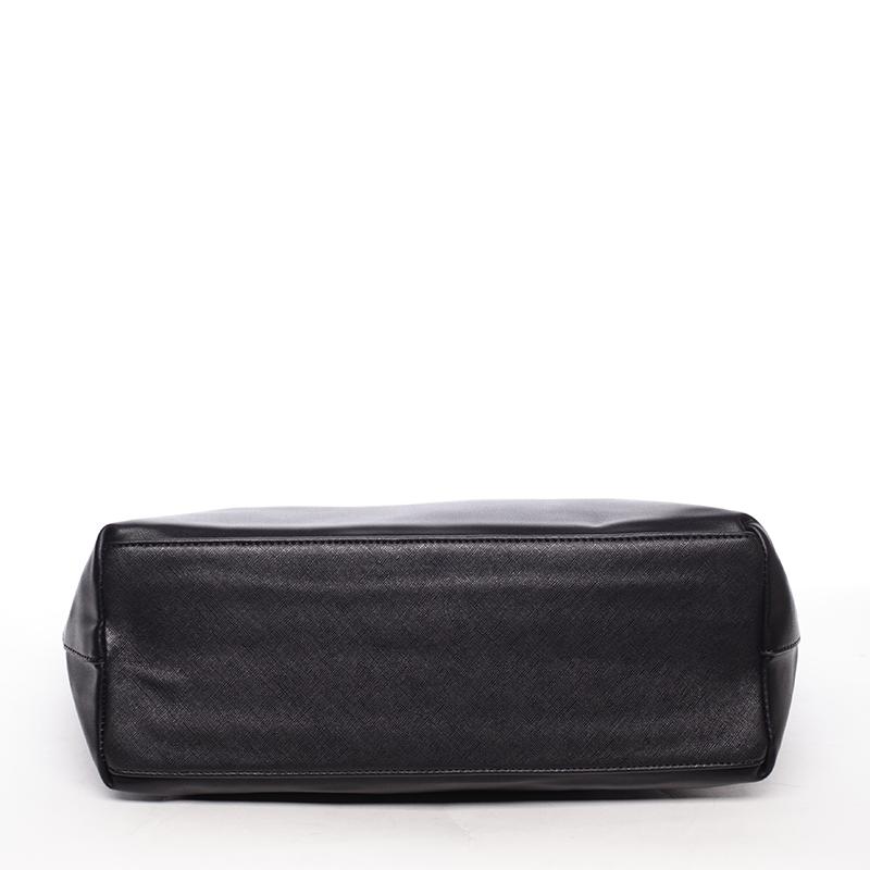 Prostorná kabelka Derek, černá