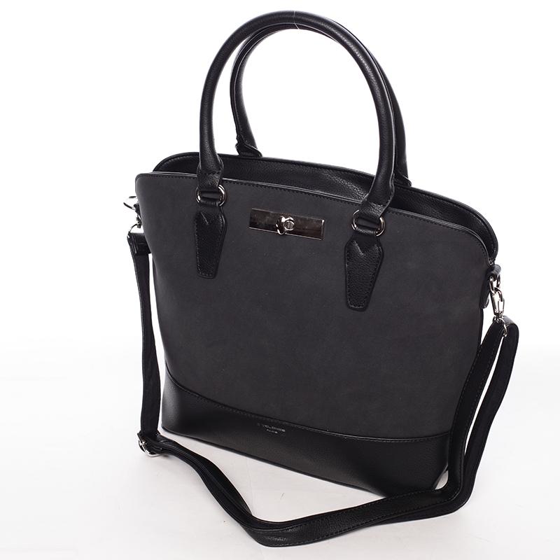 Elegantní dámská kabelka Karina, černá